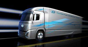 Hyundai crea un camión con pila de combustible de hidrógeno