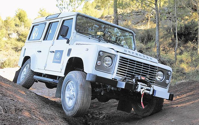 Plan de ocio Land Rover experience