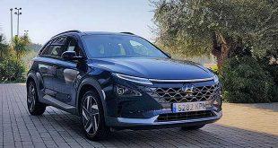 Hyundai matricula la primera unidad con pila de combustible en España