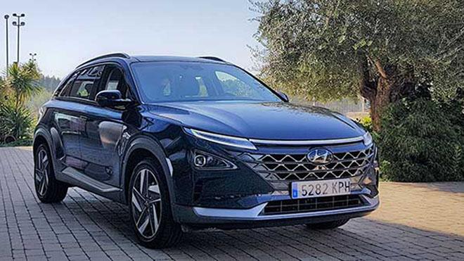 Hyundai Nexo. primer vehículo de hidrógeno matriculado en España