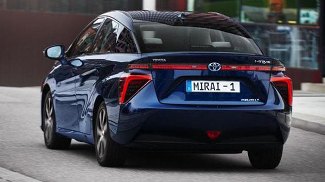 Toyota MIrai, vehículo de hidrógeno
