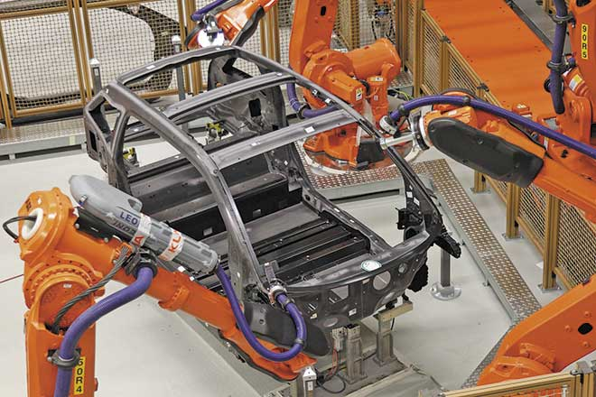 Fibra de carbono en el automóvil