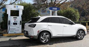 coche de hidrógeno o de pila de combustible