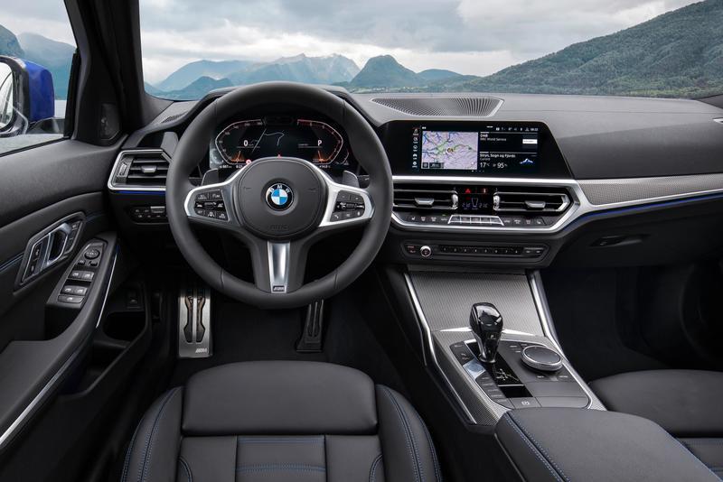 BMW Serie 3 interior
