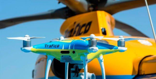 La DGT incorpora drones