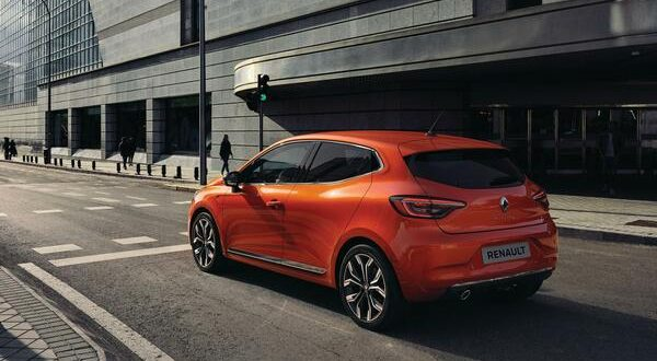 Trasera Renault Clio