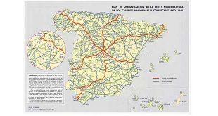 Nomenclatura carreteras españolas