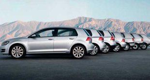 Volkswagen Golf generaciones