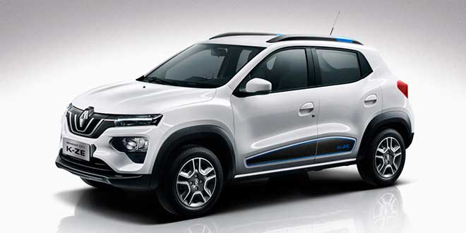 Renault presenta su nuevo City K-ZE, su primer SUV eléctrico