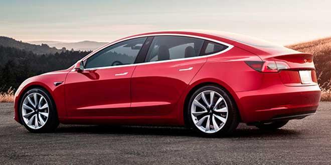 La versión más económica del Tesla Model 3, ya a la venta en España