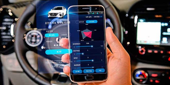 Hyundai utilizará los smartphones para ajustar el rendimiento de sus coches eléctricos