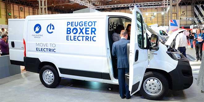 PSA presenta su nueva gama eléctrica de vehículos comerciales ligeros