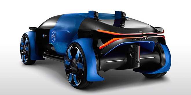 Citroën y Goodyear se alían para desarrollar un prototipo eléctrico y autónomo