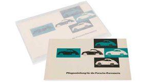 Porsche reimprime los manuales originales de sus coches clásicos