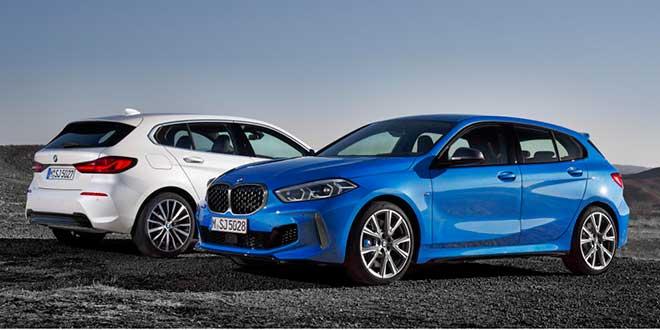 BMW presenta la tercera generación del Serie 1