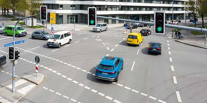 El sistema de información de semáforos de Audi ya está disponible en Europa