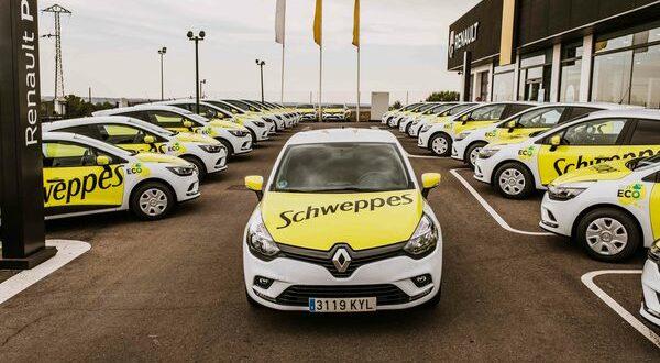 ALD vehículos ECO Renault a Schweppes