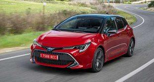 Tres de cada cuatro Toyota vendidos en España en 2019 son híbridos