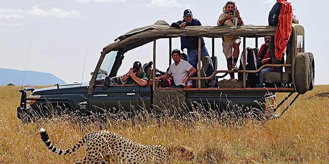 Ruta todoterreno por el Kilimanjaro