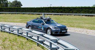 Toyota empieza sus pruebas autónomas en vías públicas europeas