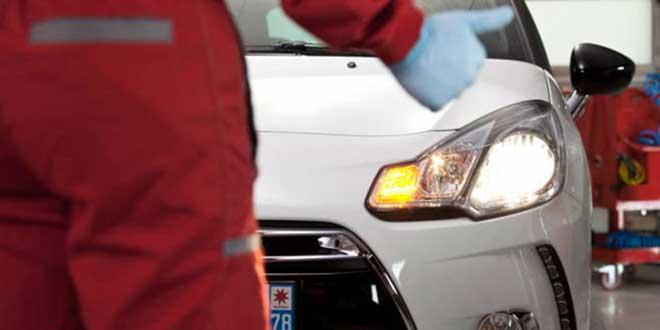 Revisar luces del vehículo