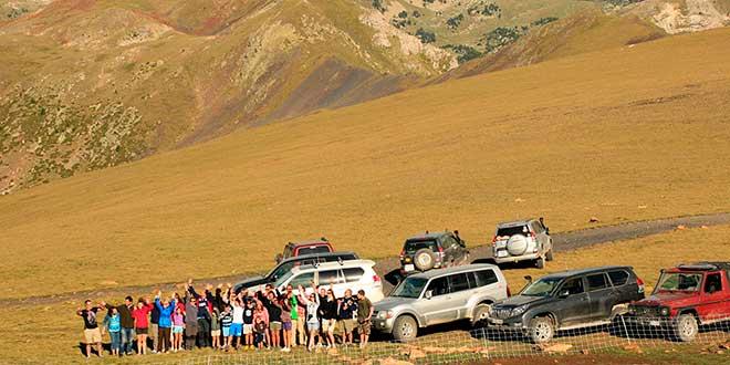 Ruta todoterreno por Pirineos