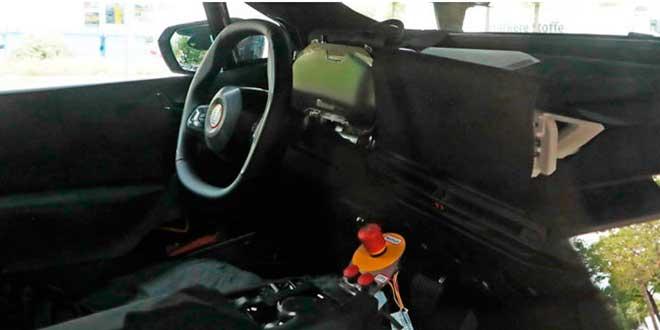 Interior del BMW IX5