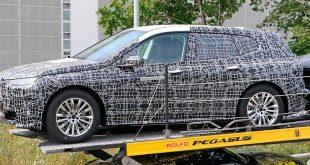 Se filtran las primeras imágenes del iX5, el SUV eléctrico de BMW