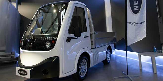 Nextem presenta en España el vehículo industrial eléctrico del futuro