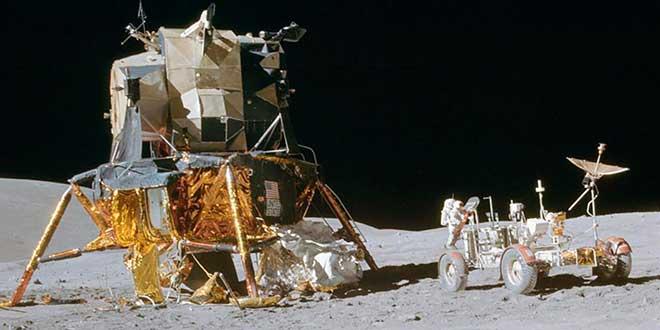 Así eran los vehículos usados en la llegada a la luna