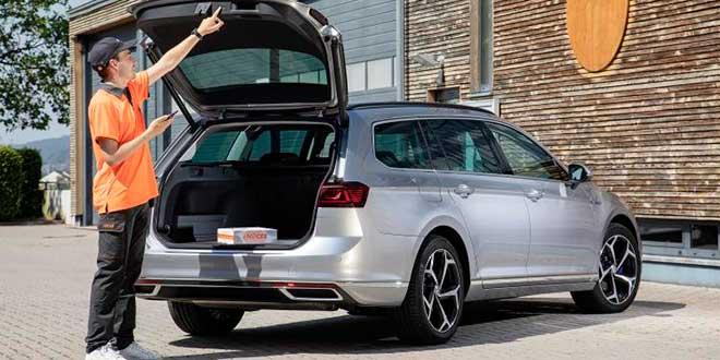 Volkswagen y Nacex crean un servicio de entrega en el maletero