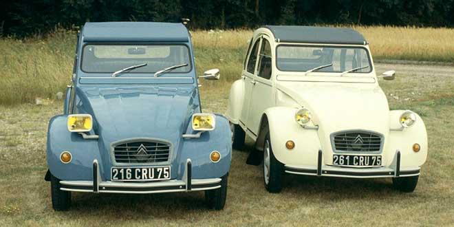 Coches más vendidos Citroën 2 CV (1948-1990)