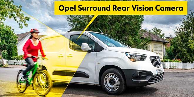 El Opel Combo Cargo estrena un sistema de cámaras contra puntos ciegos