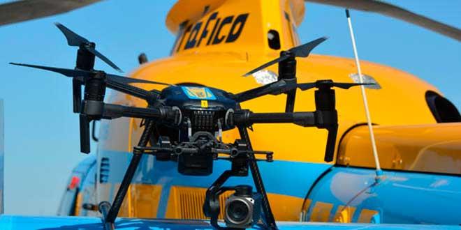 La DGT comienza a utilizar sus drones para sancionar en carretera