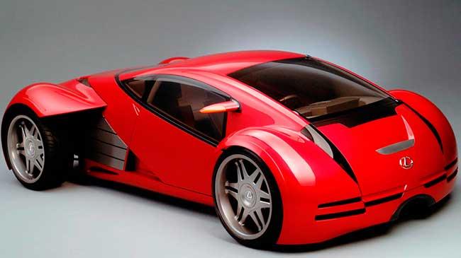 Lexus 2054 Concept - Minority Report