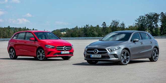 Mercedes lanza los Clase A y Clase B híbridos enchufables