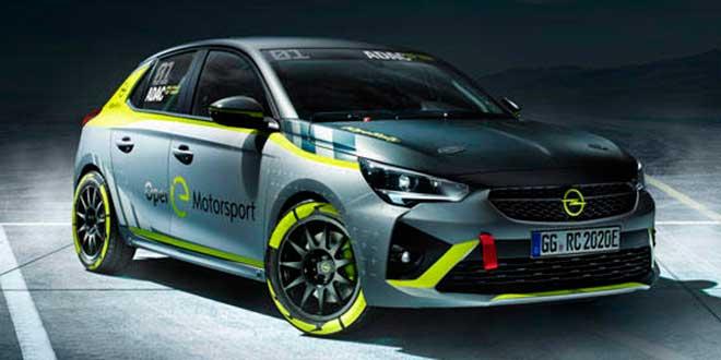 Opel crea el primer coche eléctrico de rallyes