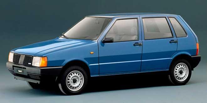 Coches más vendidos Fiat Uno (1983-actualidad)