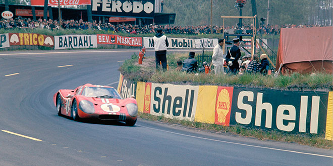 ¿Qué pasó en el circuito de Le Mans en 1966?