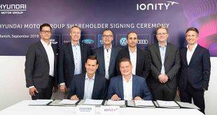 Hyundai se une a IONITY para contribuir a democratizar el coche eléctrico