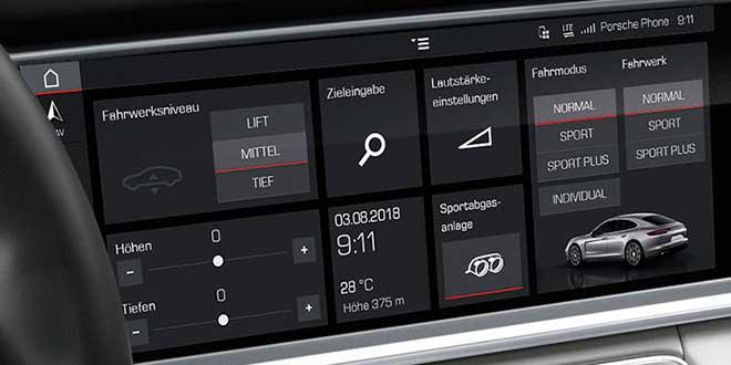 Porsche Connect apps