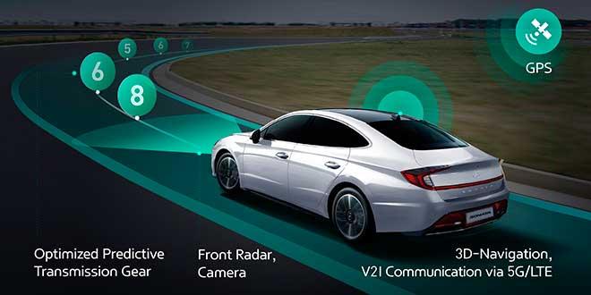 Hyundai desarrolla el primer sistema predictivo conectado a la caja de cambios