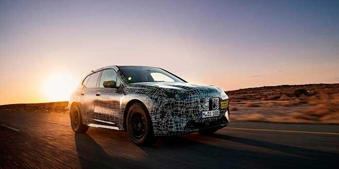 BMW completa la fase pruebas del nuevo iNEXT en calor extremo