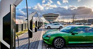 Porsche crea el punto de carga más potente de Europa