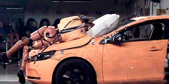 Airbag para peatones
