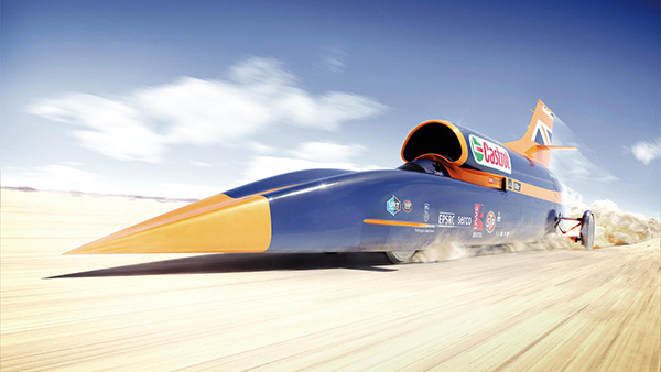Bloodhound SSC SuperSonic Car (2008)