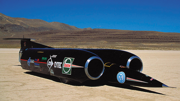 Thrust SSC2