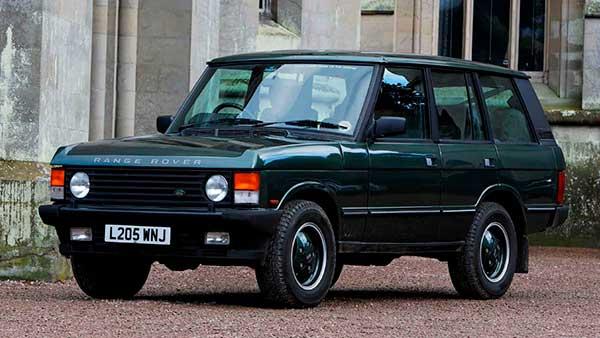 Aniversarios Range Rover