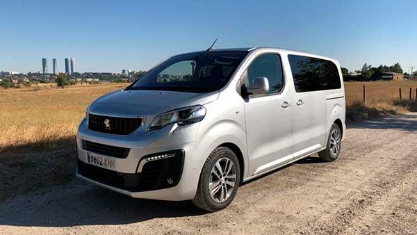 Peugeot Traveller para viajar
