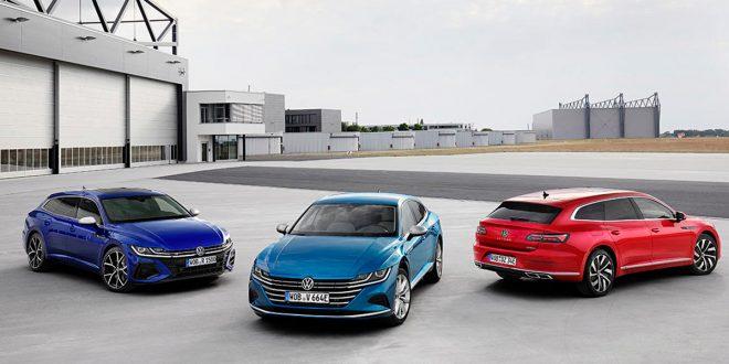 Volkswagen actualiza la berlina Arteon con variantes familiares e híbridas